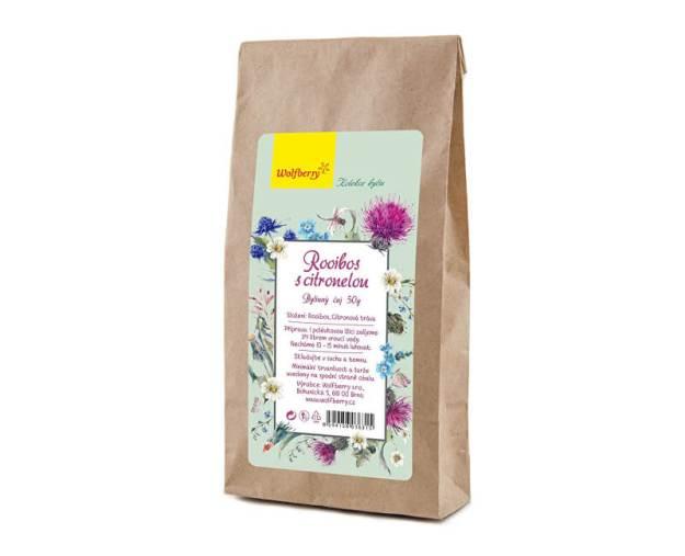 Rooibos s citronelou bylinný čaj 50g (z56508) od www.prozdravi.cz