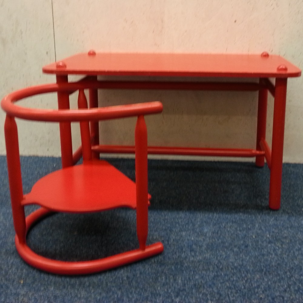 Anna Children S Table Chair By Karin Mobring For Ikea 1960s 39685