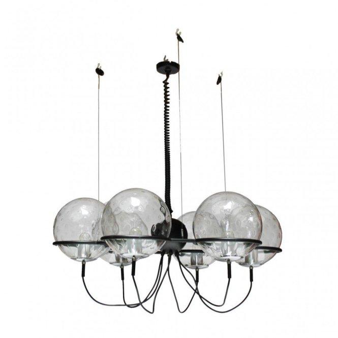 Saturnus Chandelier Hanging Lamp By Raak Amsterdam 1960s
