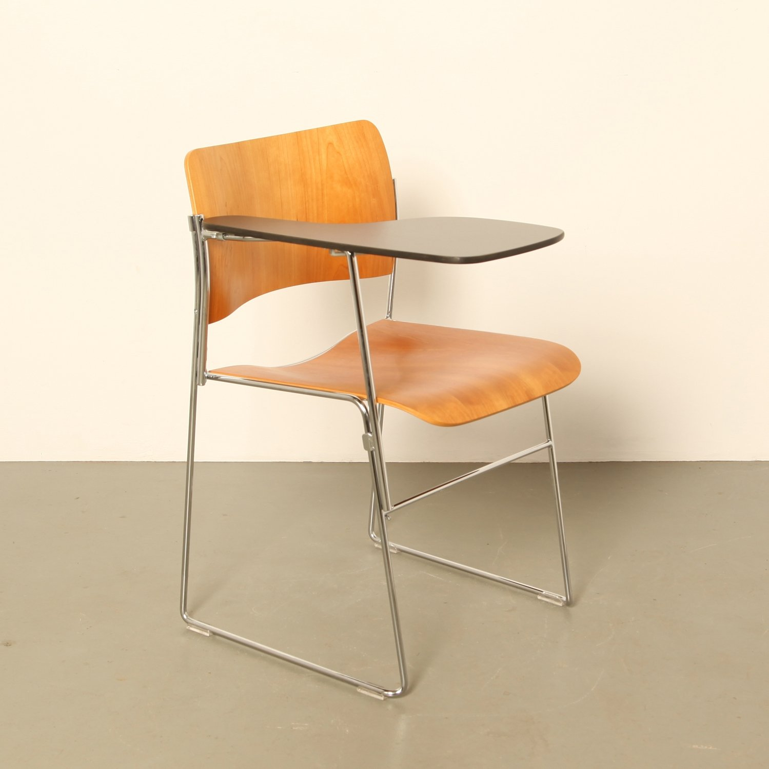40 4 Writing Desk Chair By David Rowland For Howe 1960s