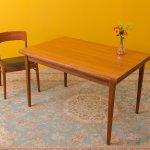 Teak Dining Table In Scandinavian Design 1960s 83512
