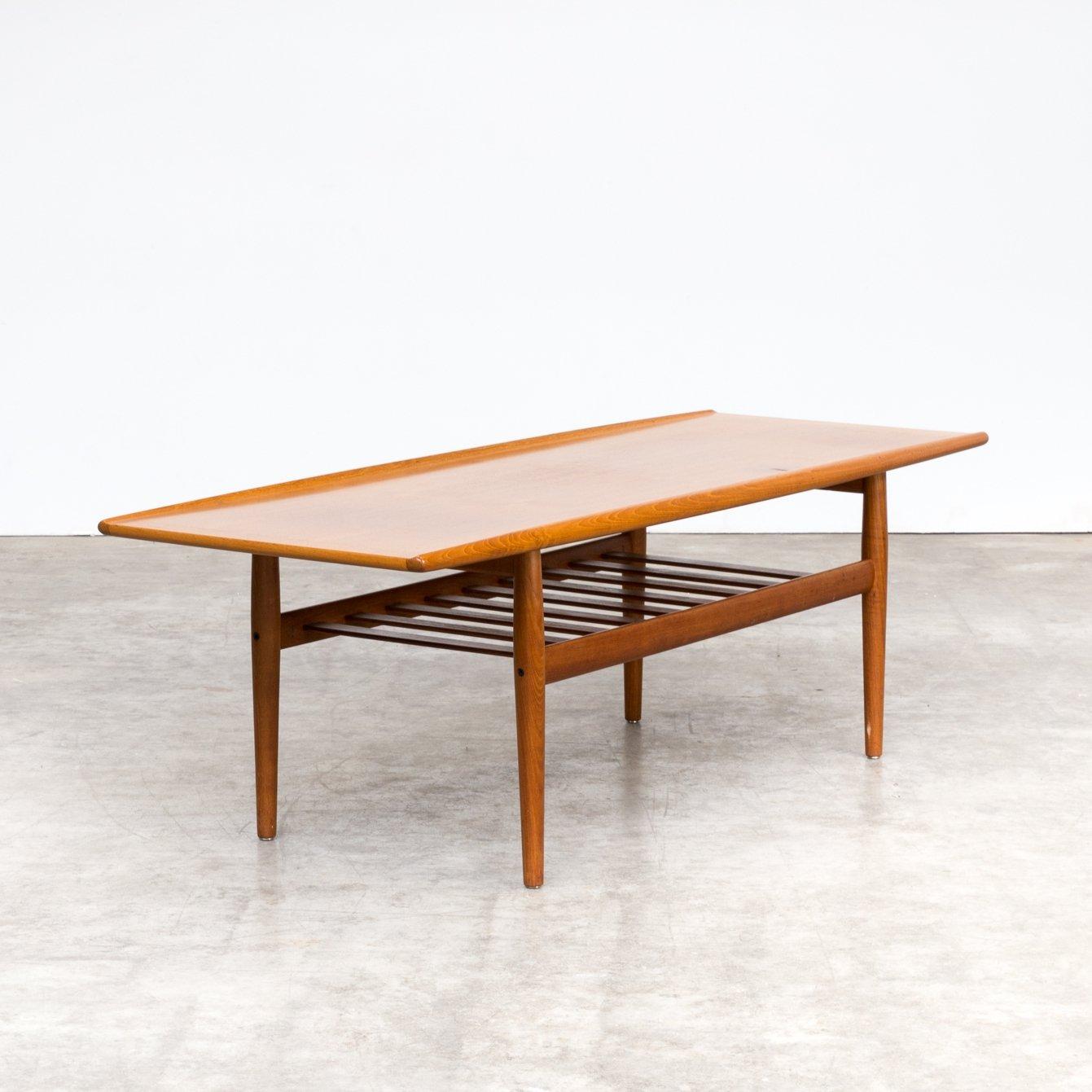 https www vntg com 99697 50s grete jalk coffee table in teak by glostrup m c3 b8belfabrik