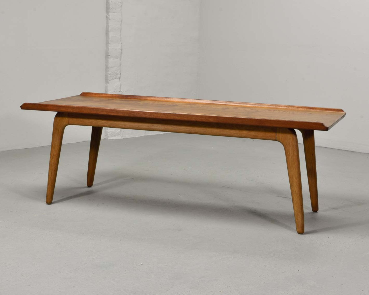 Mid Century Dutch Design Teak Coffee Table By Aksel Bender Madsen For Bovenkamp 1960s