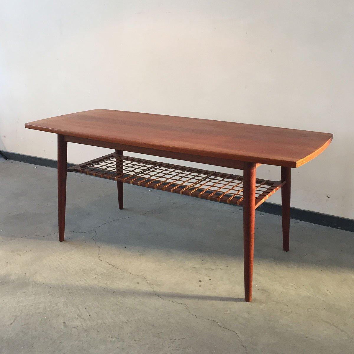 danish teak coffee table 1960s 114076