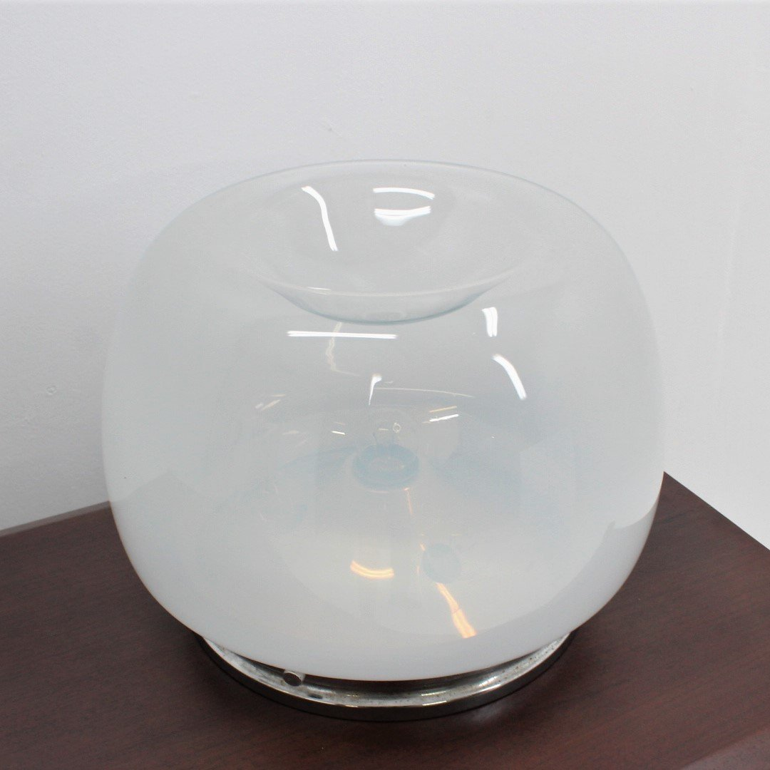 Hand Blown Glass Table Lamp By Mazzega 1970s 119448