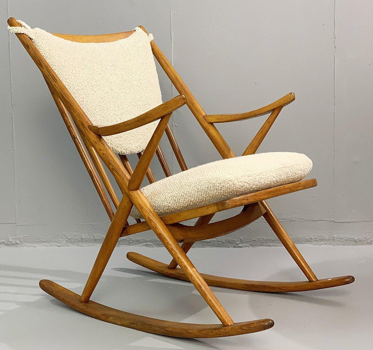 Danish Rocking Chair By Frank Reenskaug For Bramin 1960s 131871