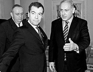 Дмитрий Медведев и Биньямин Нетаньяху смотрят на историю с одинаковых позиций