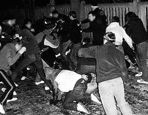 Драку «стенка на стенку» милиции удалось предотвратить