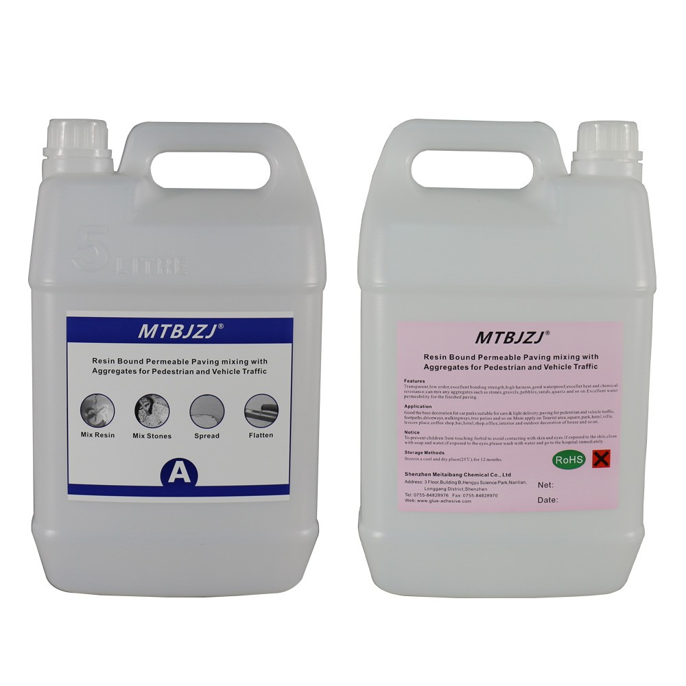 resine epoxy bond agregats paving low