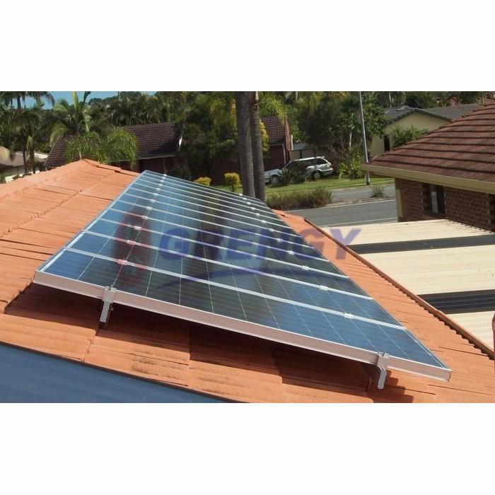 supply solar panel tile roof bracket