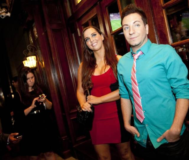 Sydney Leathers And Friend On Election Night Jin Lee Ap
