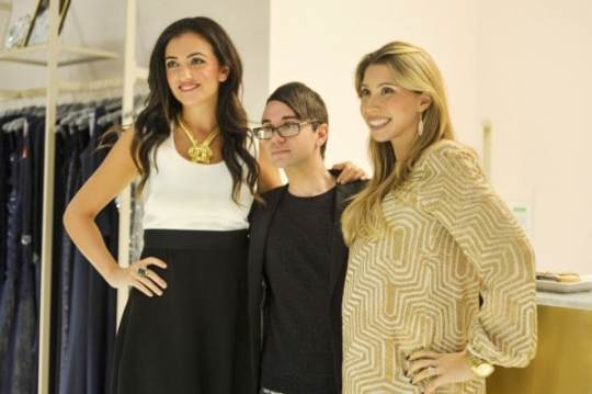 WASHINGTON, DC - NOVEMBER 24: Jenn Hyman, Christian Siriano and Jenny Fleiss attends the Rent the Runway DC store Opening at Rent The Runway on November 24, 2014 in Washington, DC. (Photo by Kris Connor/Getty Images for Rent The Runway)