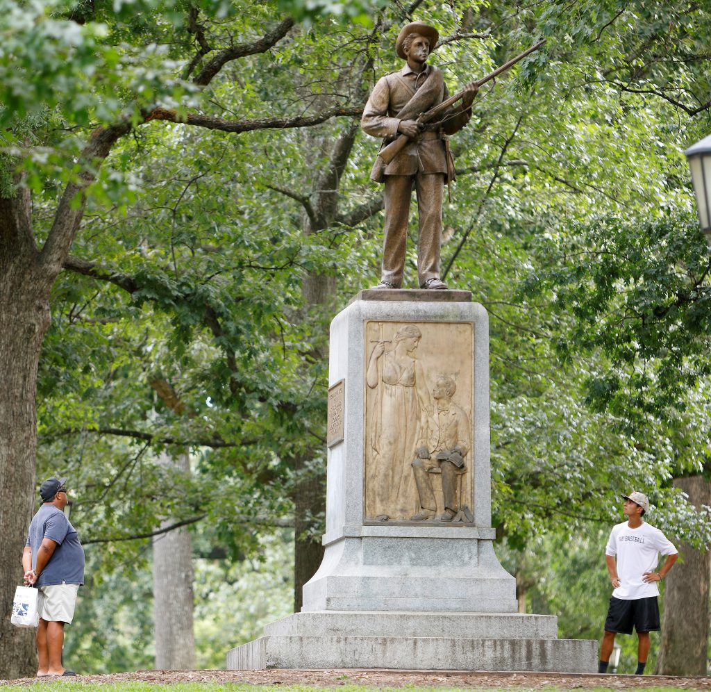 After Duke Incident Rival Unc Considers Whether To Remove Confederate Statue