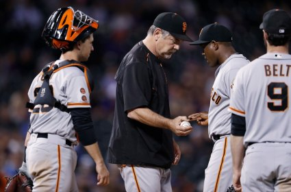 Image result for giants bullpen blows postseason