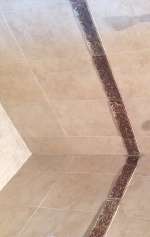 how to paint shower tiles that have