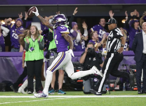 Image result for stefon diggs playoff