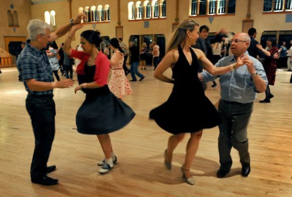 Social Dance as exercise: Just do-si-do it - The ...