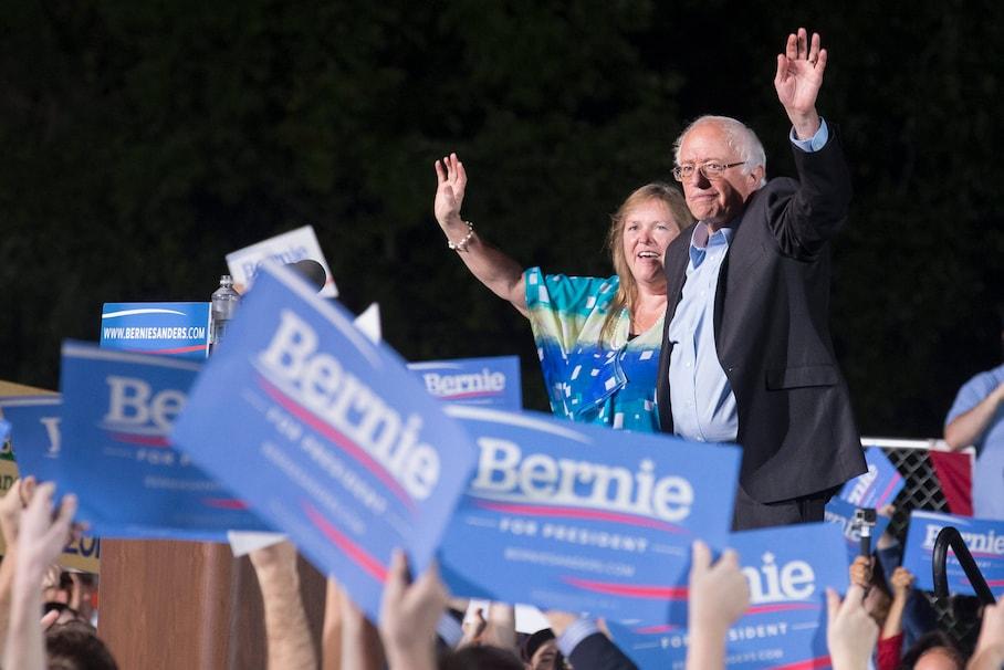 Jane Sanders is starting to play a bigger role in her husband's campaign