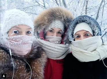 Russia Cold Weather 99758 95598 - Coldest Place On Earth, Where Eyelashes Freeze