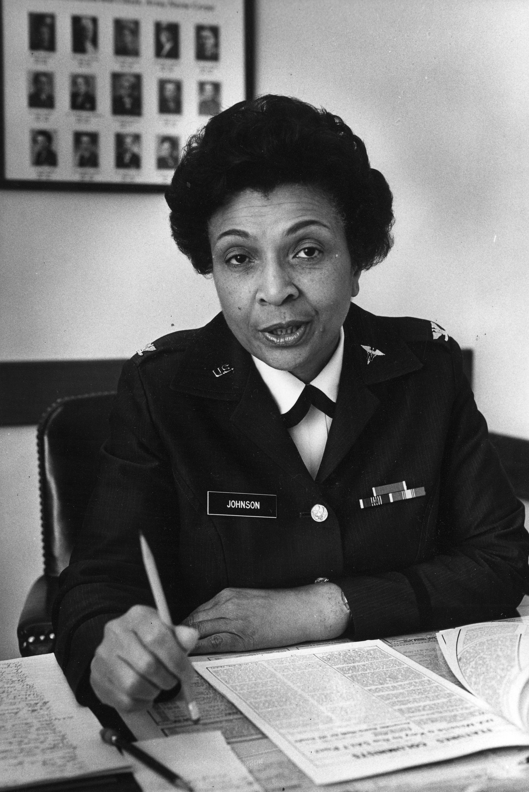 Hazel Johnson Brown Army Nurse Who Was First Black Female