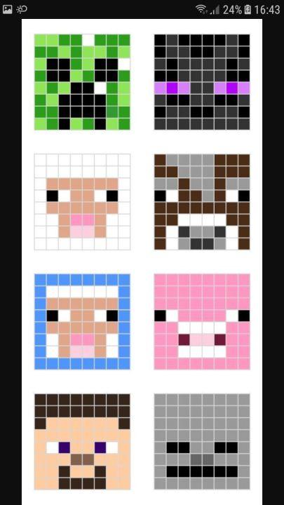 Pixel Art Minecraft Wattpad