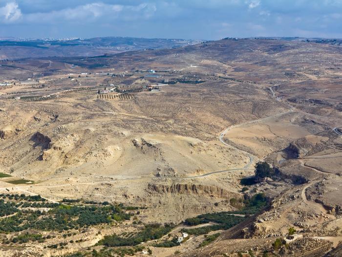 עמק הירדן מבט מהר נבו (ShutterStock)