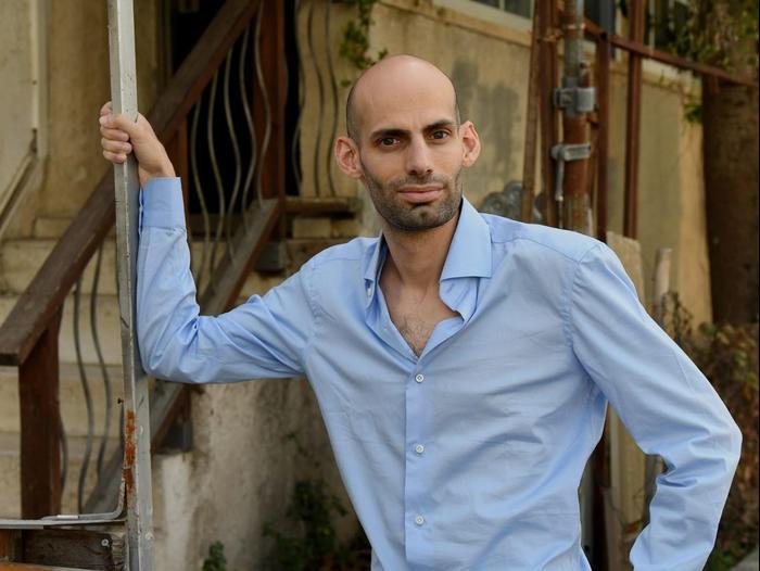 גיא זומר, פעיל חברתי בתחום השקיפות, 17 ביוני 2020 (ראובן קסטרו)