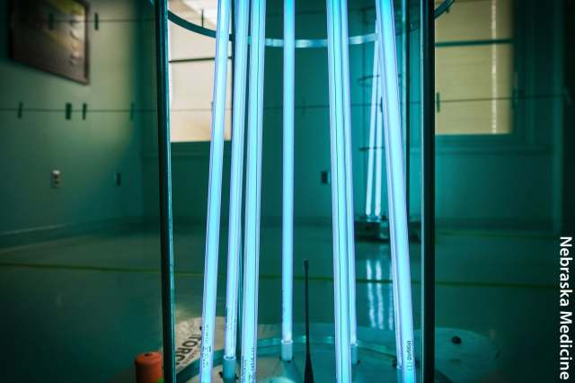 photo of uv light rods