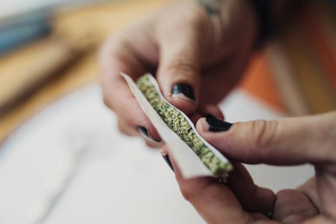 photo of lifestyle joint marijuan