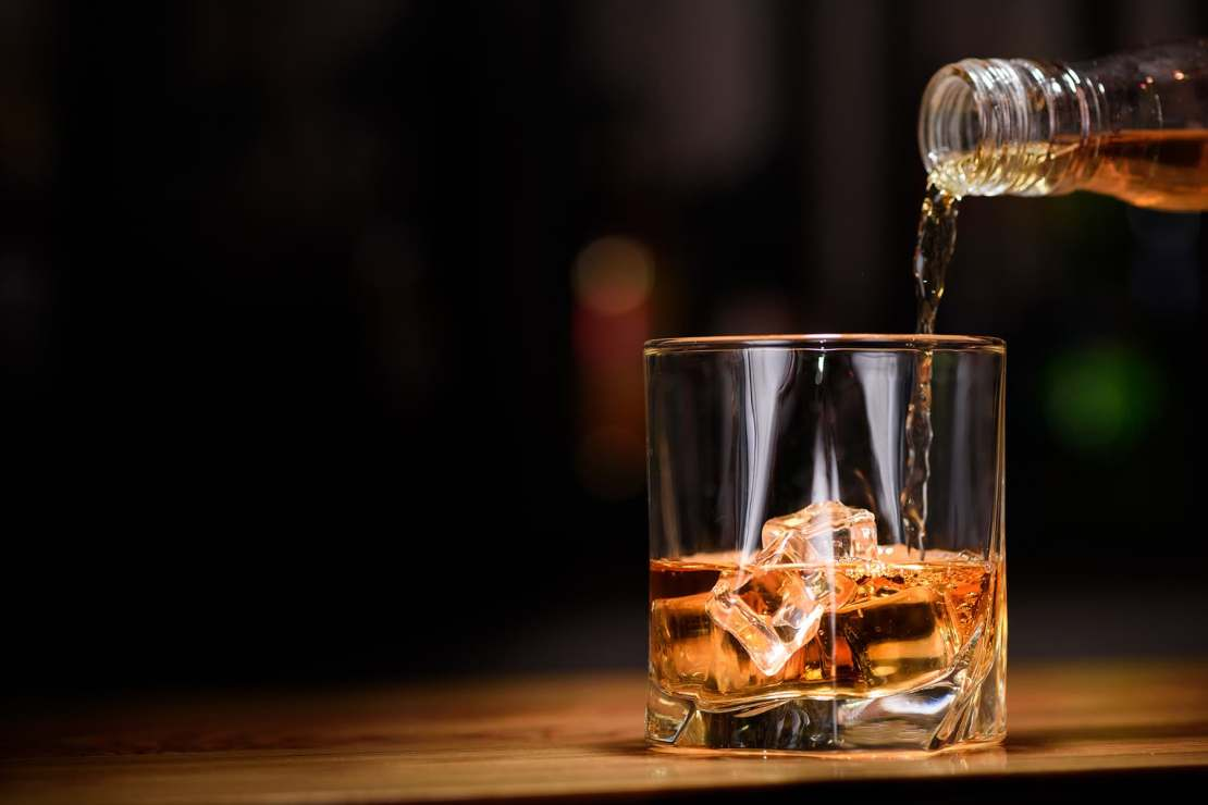 photo of food alcohol brown glass