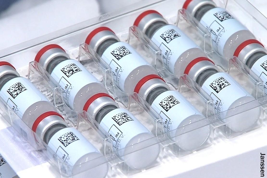 photo of janssen vaccine