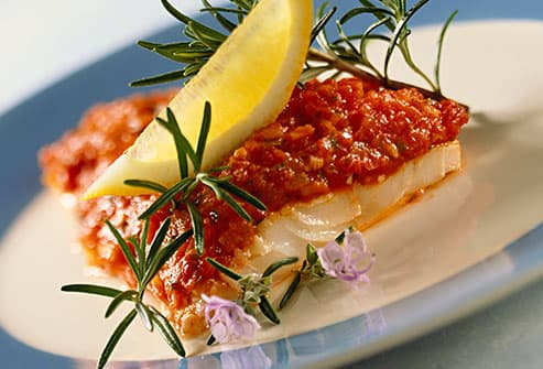 cod with rosemary