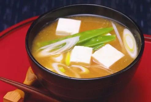 Miso Soup Activates Digestion