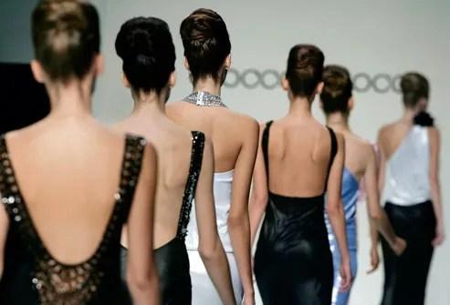 Fashion Models on Catwalk