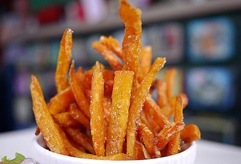 salty fries