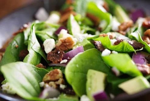 salad with thousand island dressing