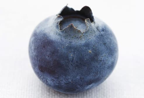 Close Up of Blueberry