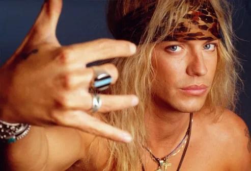 Poison Frontman Bret Michaels 1993