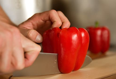red peppers - 10 Foods That Are Good for Your Eyes