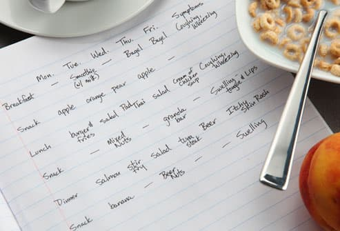 ... food at a time this may help you figure out which food causes your