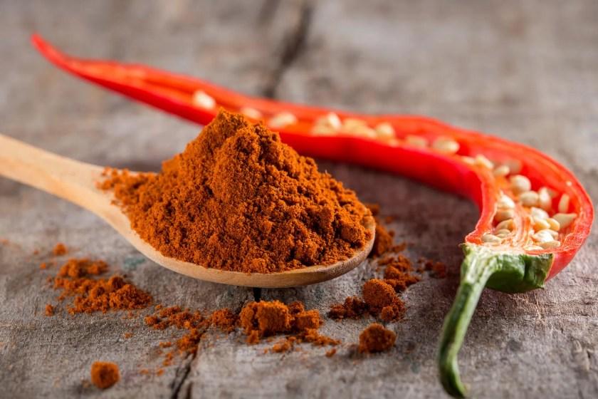 chili and chili powder