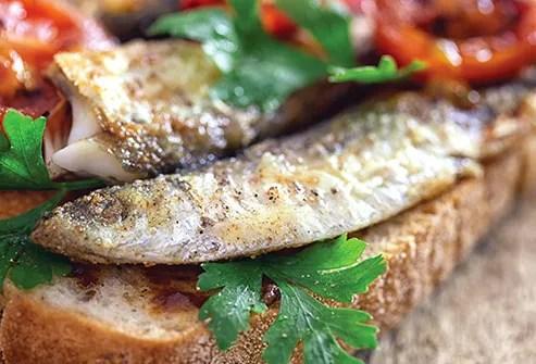 sardine sandwich