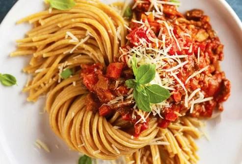 wholegrain pasta spaghetti