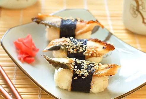 Sesame Seeds sushi