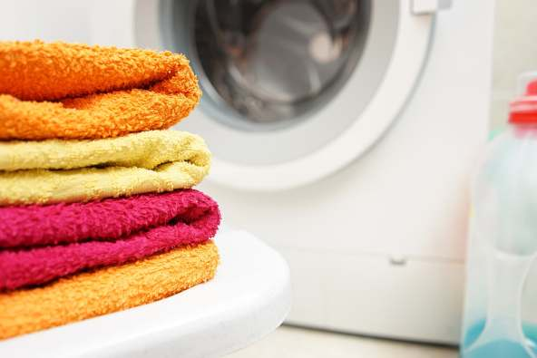 photo of clean towels