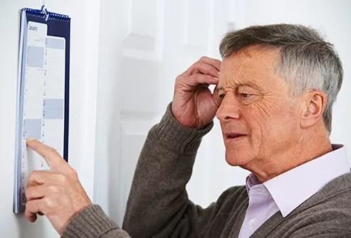 confused older man