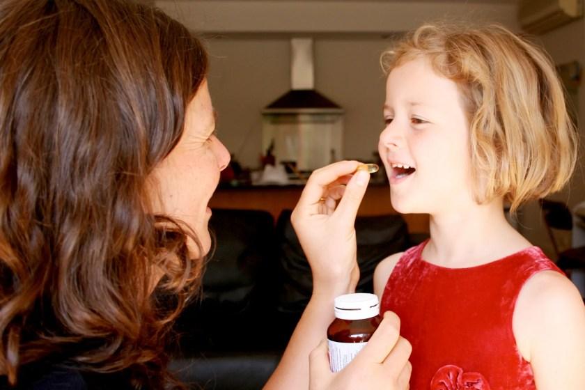 Mom daughter supplements