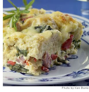 Picture of Ham & Cheese Breakfast Casserole