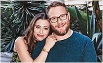 Seth and Lauren Miller Rogen