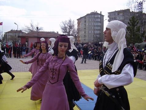 nevruz töreni halk oyunları, türk dünyası haftası